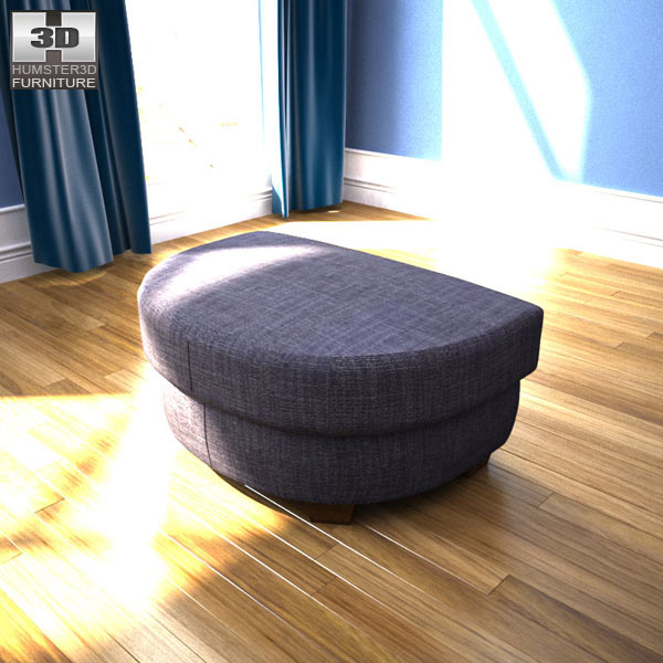 IKEA Tidafors Ottoman 3d model