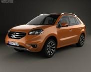 3D model of Renault Koleos 2012