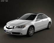 3D model of Acura RL 2012