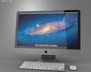 3D model of Apple iMac 27 2012