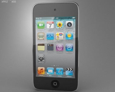3D model of Apple iPod Touch 4