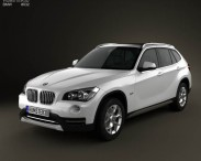 3D model of BMW X1 2013