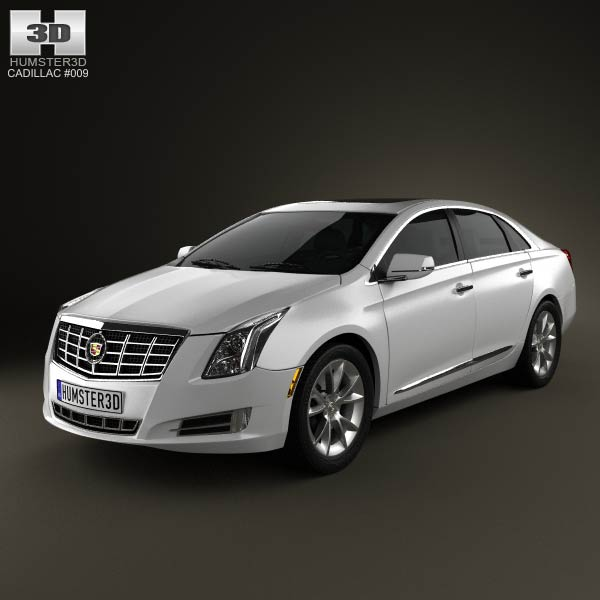 Cadillac XTS 2013 3d car model