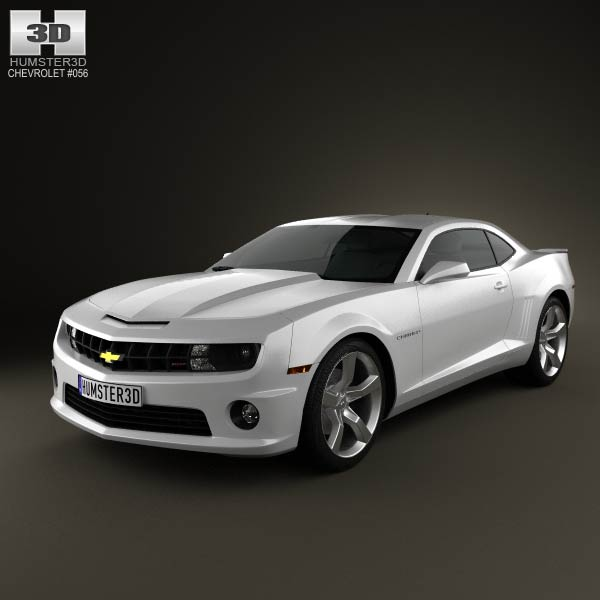Chevrolet Camaro 2SS RS coupe 2011 3d car model
