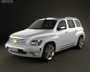 3D model of Chevrolet HHR wagon 2011