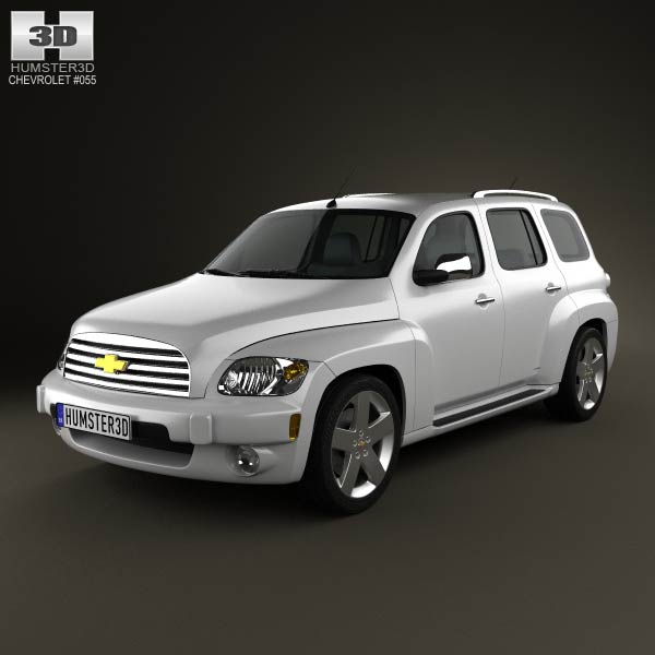 Chevrolet HHR wagon 2011 3d car model