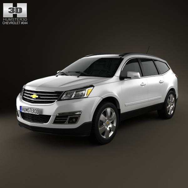 Chevrolet Traverse 2013 3d car model