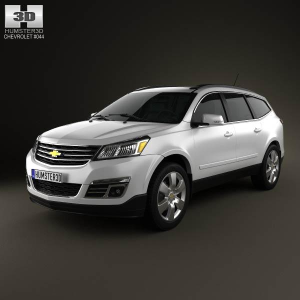 Chevrolet Traverse 2013 3d car model