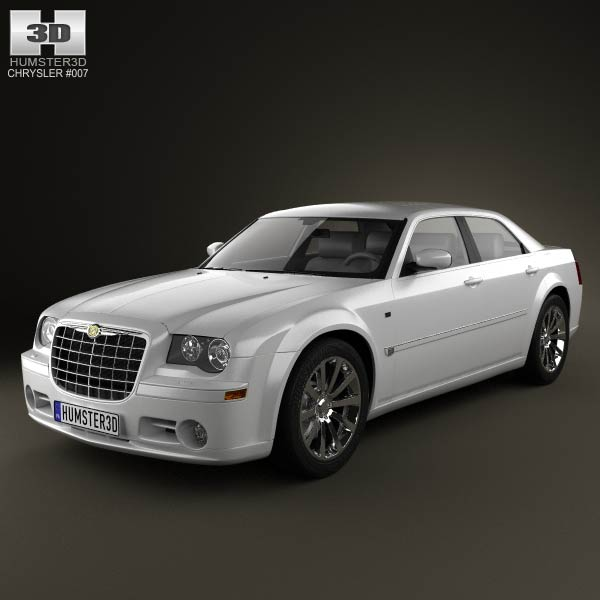 Chrysler 300C sedan 2009 3d car model