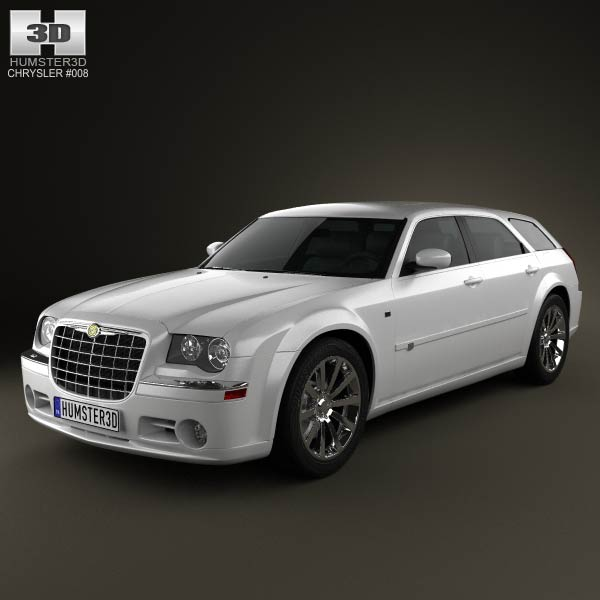 Chrysler 300C wagon 2009 3d car model