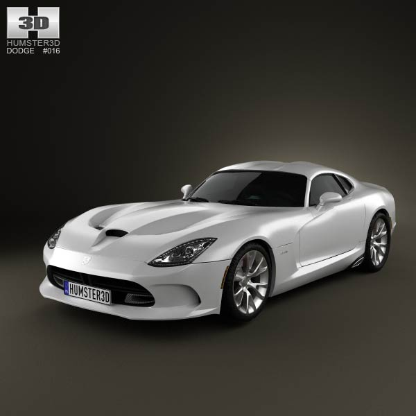 Dodge SRT Viper GTS 2012 3d car model