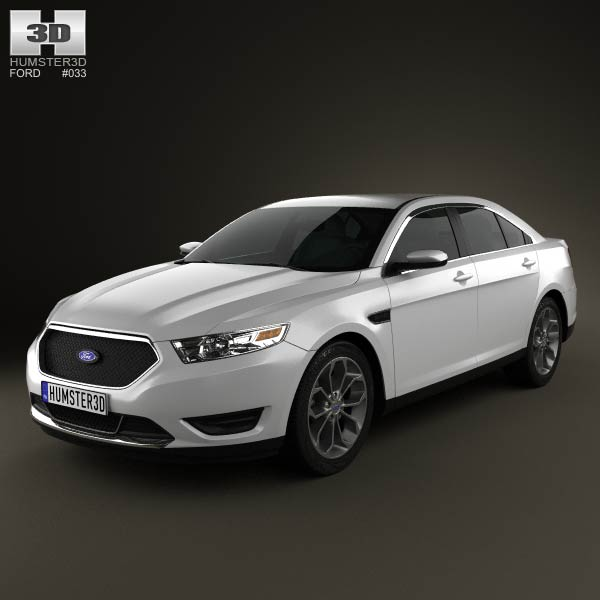 Ford Taurus SHO 2013 3d car model