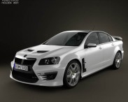3D model of HSV GTS 2012