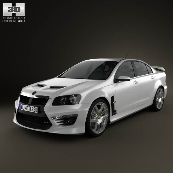 HSV GTS 2012 3d car model