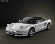 3D model of Honda NSX Type-R 1992