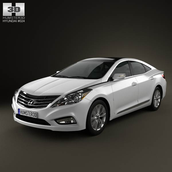 Hyundai Azera (Grandeur) 2012 3d car model