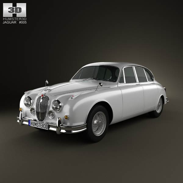 Jaguar Mark 2 1959-1967 3d car model