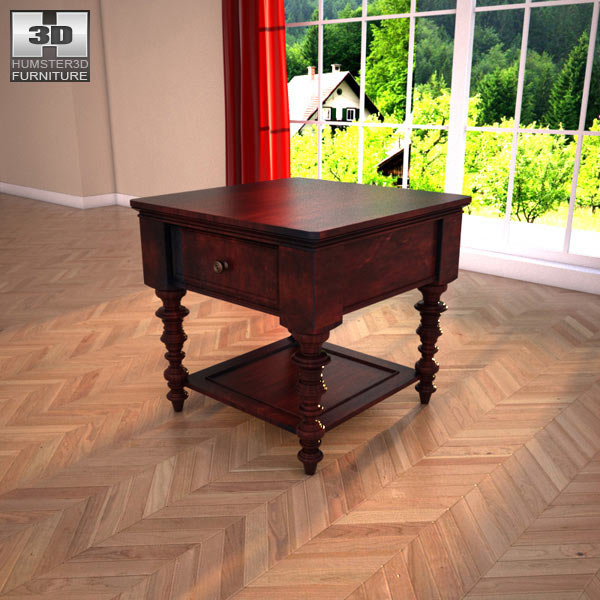 Ashley Key Town – Truffle Table 3d model