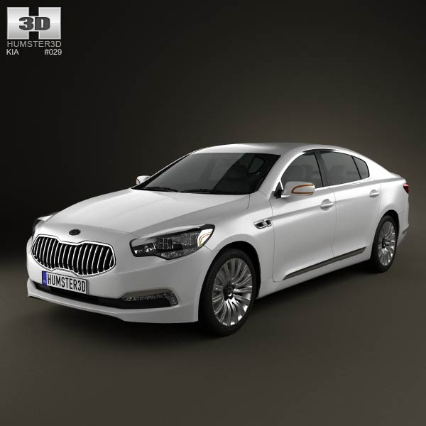 Kia K9 Quoris 2013 3d car model