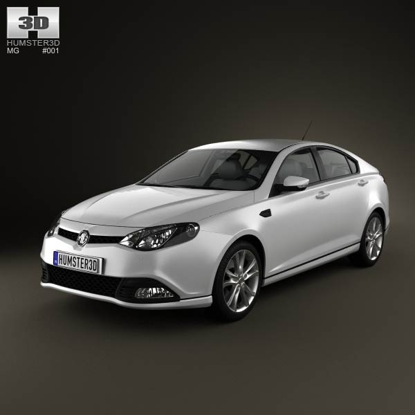 MG6 GT 2012 3d car model