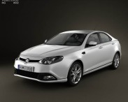 3D model of MG6 Magnette 2012