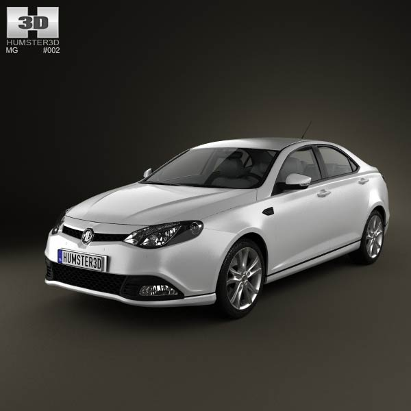 MG6 Magnette 2012 3d car model