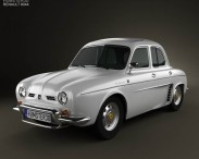 3D model of Renault Ondine (Dauphine) 1956-1967