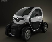 3D model of Renault Twizy 2012