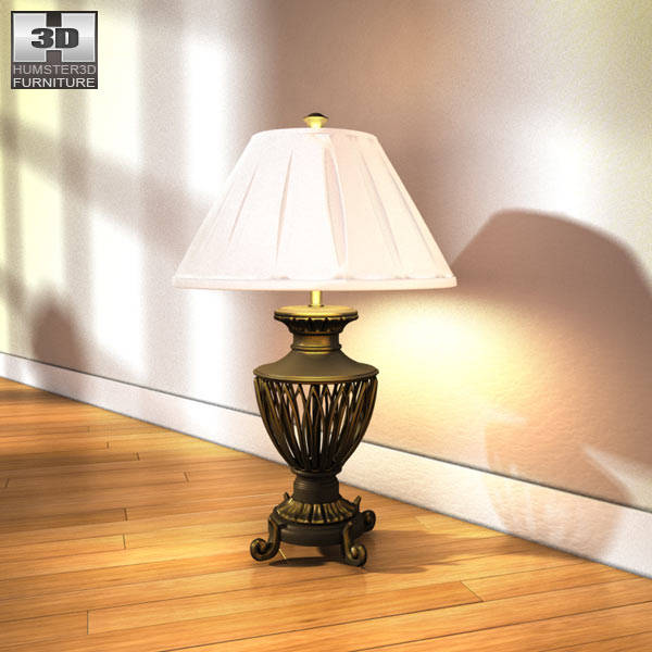 Ashley Leighton Table Lamp 3d model