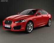 3D model of Jaguar XFR 2012