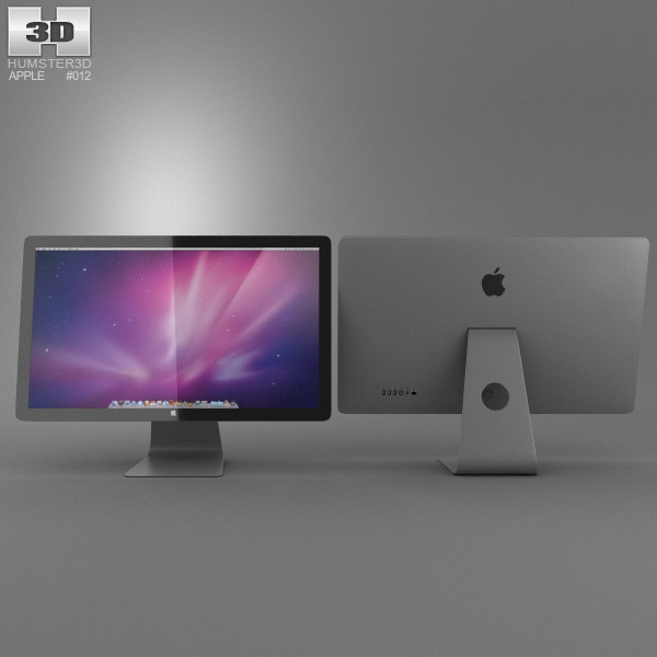 Apple Thunderbolt Display 27 2012 3D model - Humster3D
