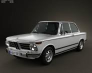 BMW 2002 1968 3d car model