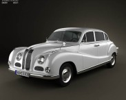 3D model of BMW 501 Saloon 1952