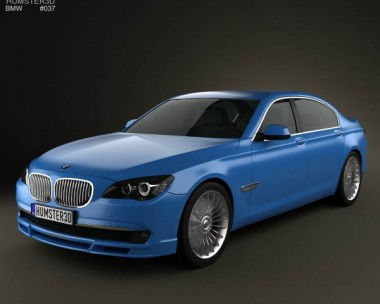 3D model of BMW 7 Series B7 Alpina 2011