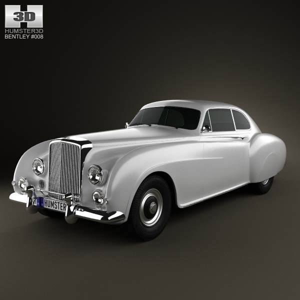 Bentley R-Type Continental 1952 3d car model