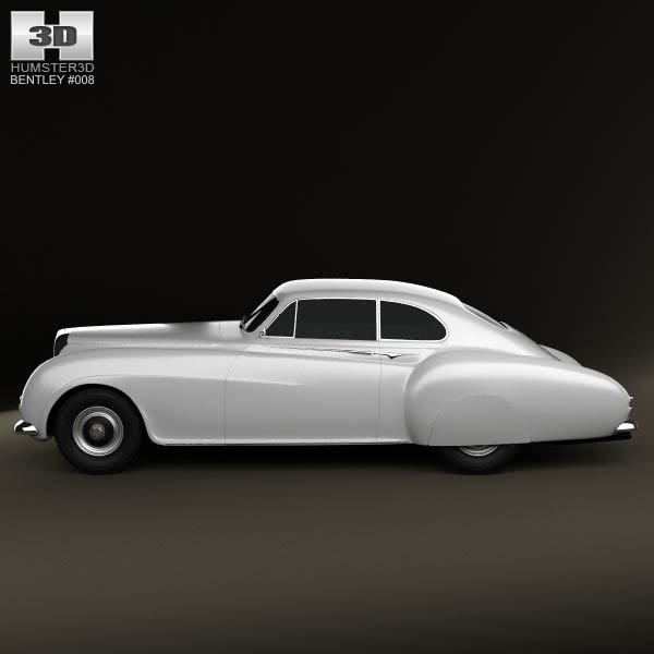Bentley R-Type Continental 1952 3D Model download (3ds max, obj ...