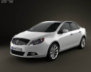 3D model of Buick Verano (Excelle GT) 2012