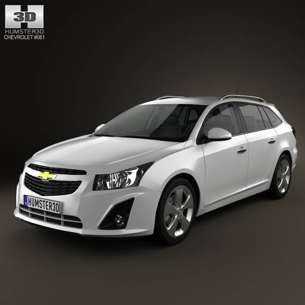 Chevrolet Cruze Wagon 2012 3d car model