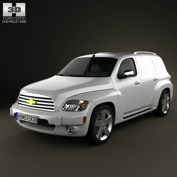 Chevrolet HHR Panel Van 2011 3d car model