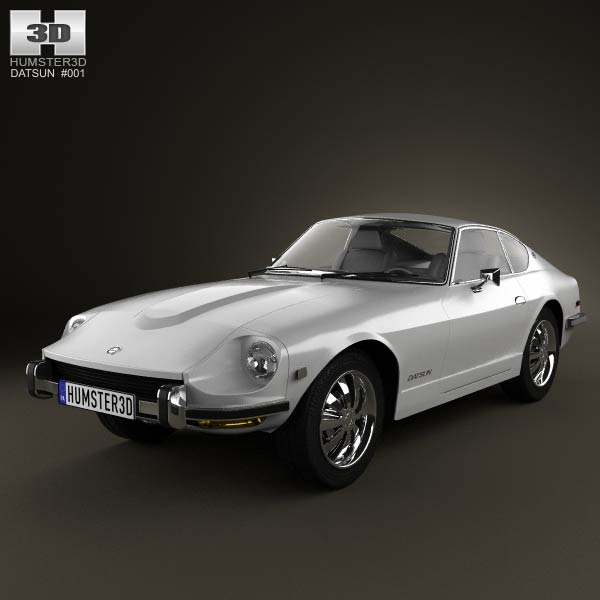 Datsun 240Z 1970 3d car model