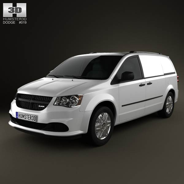 Dodge Ram CV 2011 3d car model