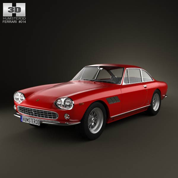 Ferrari 330 GT 1965 3d car model