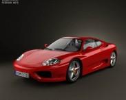 3D model of Ferrari 360 Modena 2005