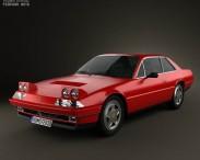 3D model of Ferrari 412 1985
