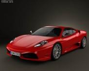 3D model of Ferrari F430 Scuderia 2009