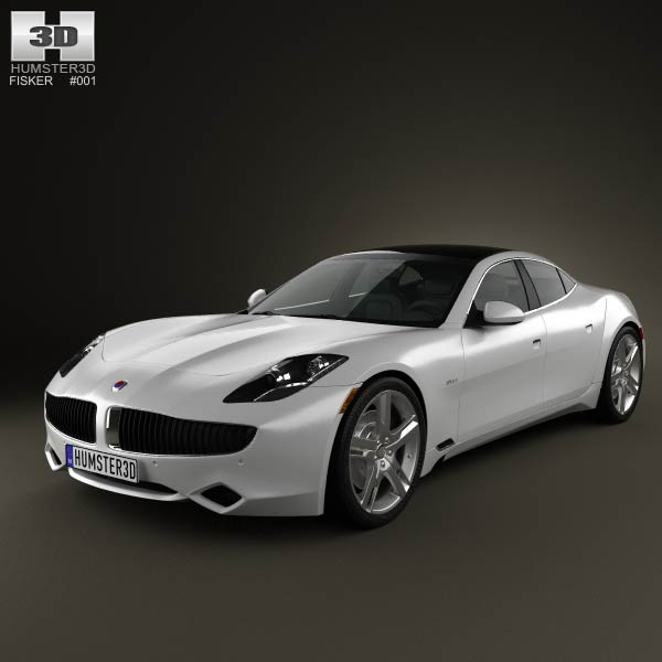 Fisker Karma 2012 3d car model