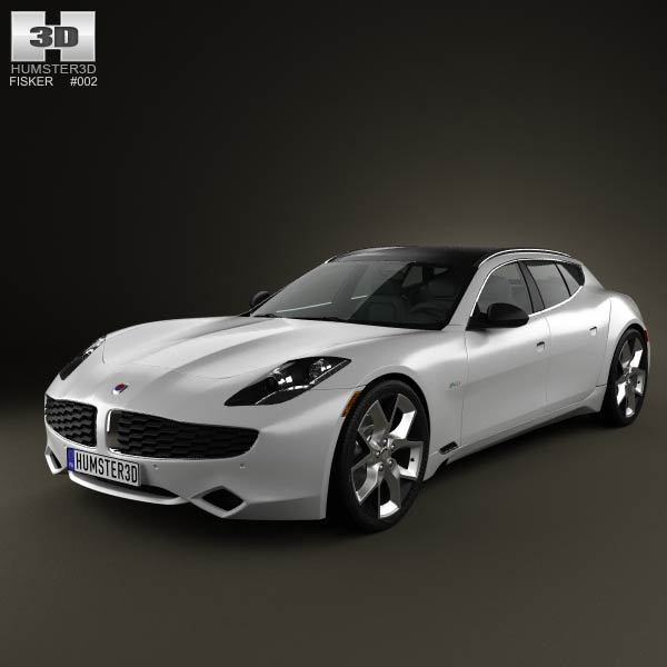 Fisker Surf 2013 3d car model