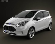 3D model of Ford B-MAX 2013