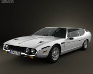 3D model of Lamborghini Espada 1968-1978
