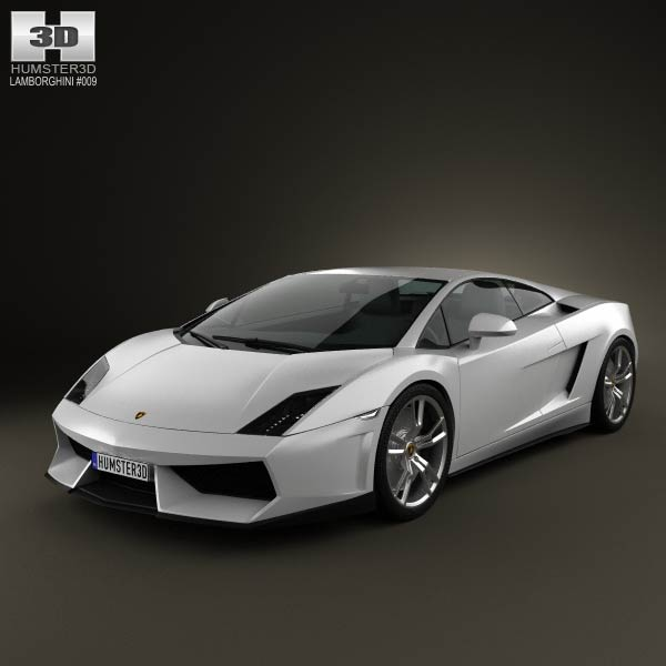 Lamborghini Gallardo LP 560-4 2009 3d car model